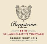 """Bergstrom """"De Lancelotti Vineyard"""" Pinot Noir 2010"""