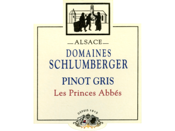 Domaines Schlumberger Pinot Gris Alsace Les Princes Abbes 2010