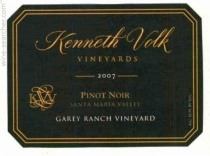 "2007 Kenneth Volk ""Garey Vineyard"" Pinot Noir"