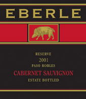 Eberle Reserve Cabernet Sauvignon Estate Bottled