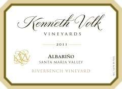 2011 Kenneth Volk Albarino Riverbench Vineyard