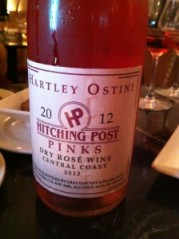"Hartley Ostini 2012 Hitching Post ""Pinks"" dry rose"