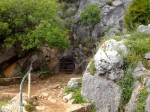 Entrance to Pileta Cave