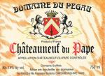 Domaine du Pegalu Chateauneuf-du-Pape Cuvee Reserva 2010