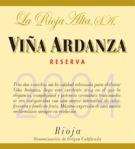 La Rioja Alta Rioja Vina Ardanza Reserva