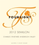 2012 Foresight Semillon Charles Vineyard