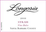 "2010 Longoria Syrah ""Vino Dulce"" Santa Barbara County"