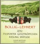2012 Bollig-Lehnert Piesporter Goldtropfchen Riesling Spatlese