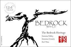 The Bedrock Heritage Sonoma Valley 2012