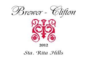 Brewer-Clifton Pinot Noir Sta. Rita Hills 2012