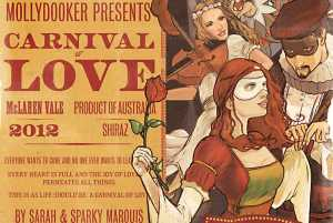 Mollydocker Shiraz McLaren Vale Carnival of Love 2012