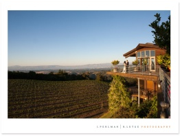 Thomas Fogarty Winery above the Silicon Valley