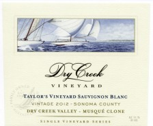 2012 Taylor Vineyard Sauvignon Blanc Musque