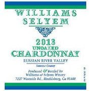 2013 Williams Selyem Unoaked Chardonnay