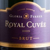 "Gloria Ferrer ""Royal Cuvee'"" sparkling wine"