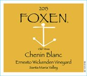 2013 Foxen Chenin Blanc Santa Maria Valley