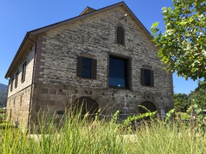 Historic Bergfeld Winery building