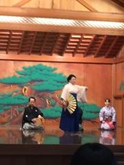 Noh Drama performance