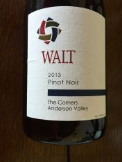 "2013 WALT Pinot Noir ""The Corners"" Anderson Valley"