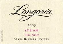 "2009 Longoria ""Vino Dulce"" Syrah Port"