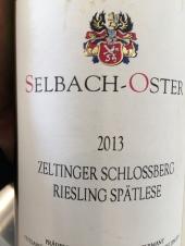 2013 Selbach-Oster Zeltlinger Schlossberg Riesling Spatlese