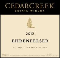 Cedar Creek Ehrenfelser