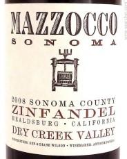 Mazzocco Zinfandel Dry Creek Valley
