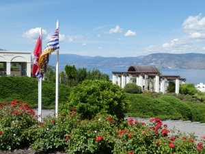 The view from Cedar Creek Estate Winery in Kelowna British Columbia, looking towards Lake Okanagan. RON SIDDLE/Valley Press