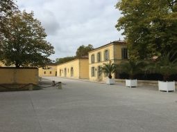 Chateau Margaux wine production buildings